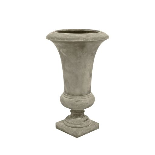 Vase in Sandfarbe