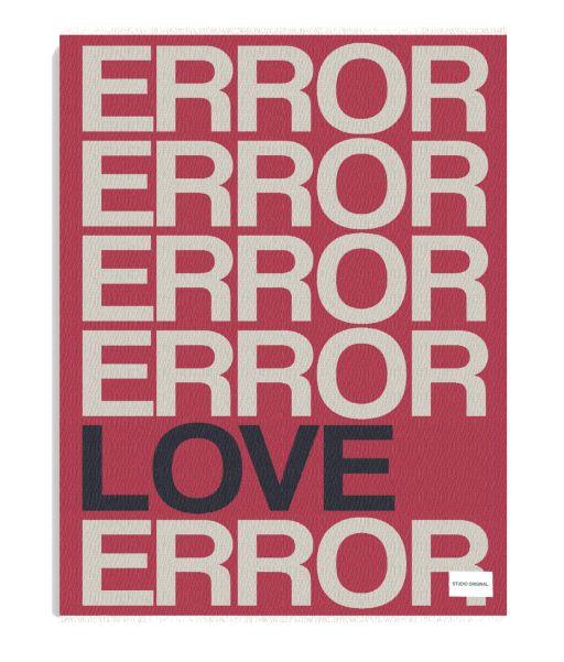 Studio Original - Decke Love Error Love
