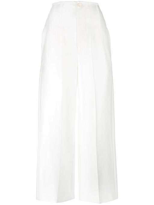 Joseph - Cullotte mit großen Taschen weiß