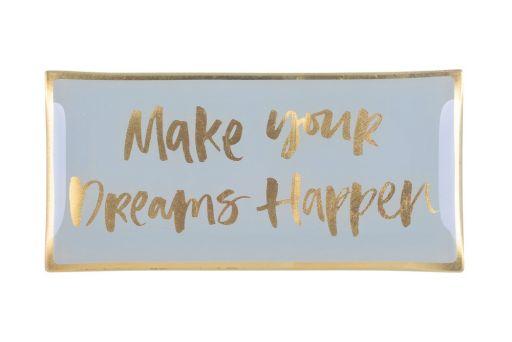 Glasteller L Make your dreams happen