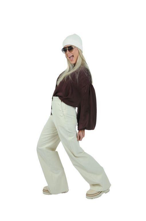 L'AUTRE CHOSE - Bluse mit Schluppe