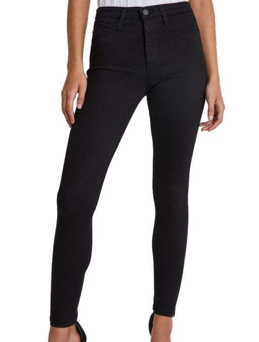 AG Jeans - Farrah seamless skinny schwarz