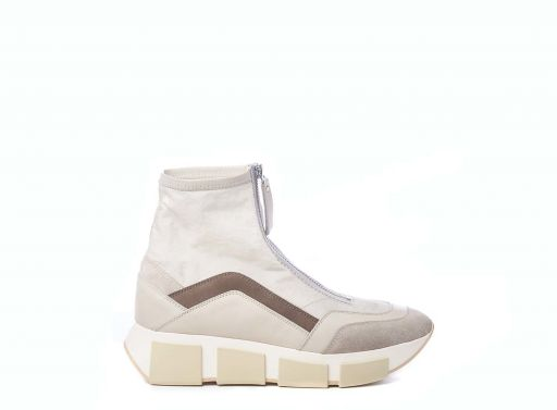 Vic Matié - High Top Sneaker aus Vinage Nylon