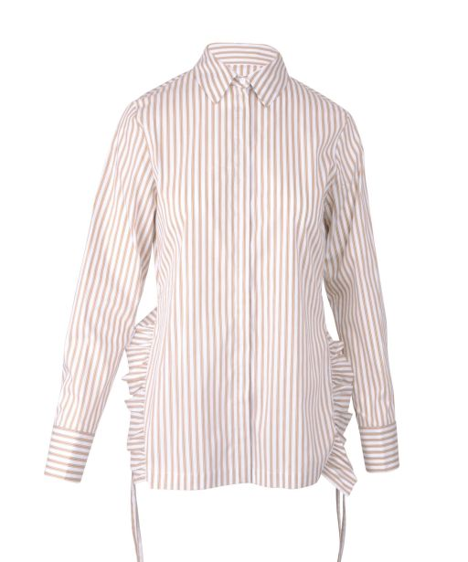 Dorothee Schumacher - Sparks on Stripes Bluse amber