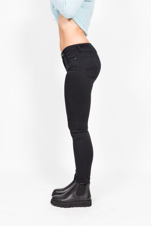AG Jeans - The Prima Mid-Rise-Cigarette Baumwollstretch