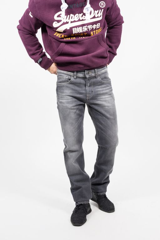 7 For All Mankind - Herren Slimmy Jeans washed grau   Jeans und ... 39e7d3cb71