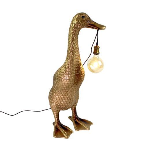 Stehleuchte Ducky gold