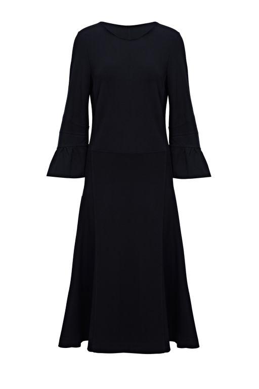 Dorothee Schumacher - Jersey Kleid schwarz