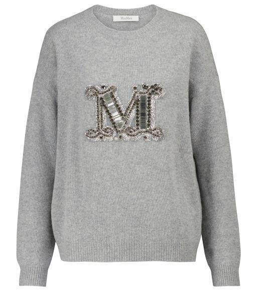 Max Mara - Pullover mit Monogram Rodeo