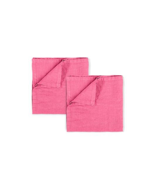 Stoff Servietten soft pink