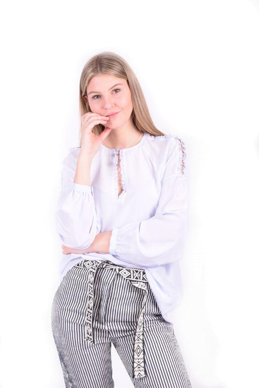 Dorothee Schumacher - Flawless Finesse Bluse blau