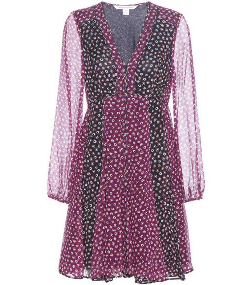 Diane von Fürstenberg - Seiden Kleid Ivetta