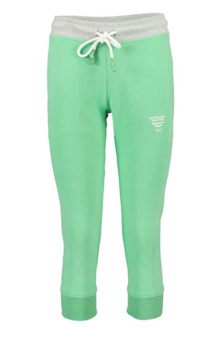 Better Rich - Crop Sweatpants grau/grün