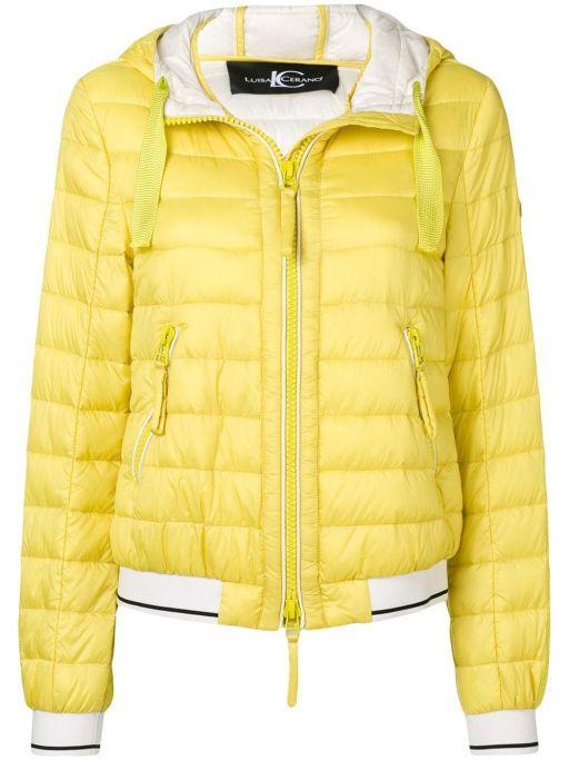 Luisa Cerano - Leichte Steppjacke in yellow