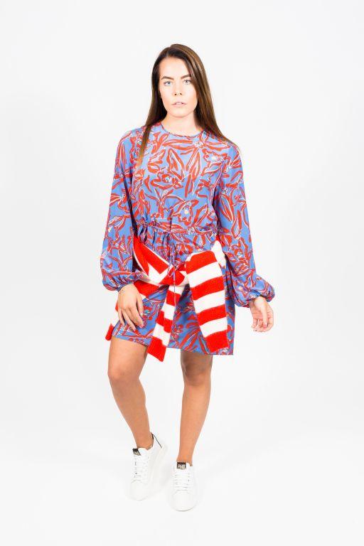 Diane von Fürstenberg - Seidenkleid mit Blumenprint
