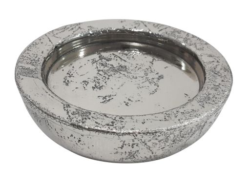Aluminium Teller für Glaswindlicht