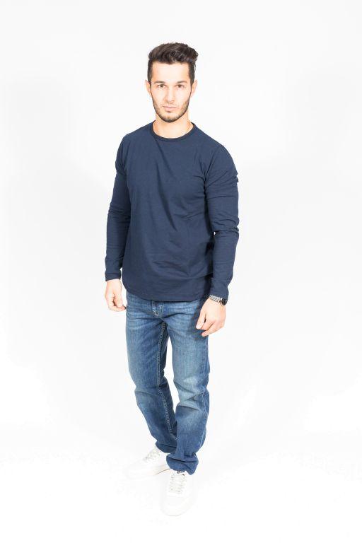 Hartford - Shirt / Langarmshirt blau