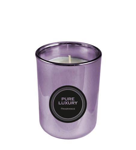 Duftkerze Pure Luxury lila