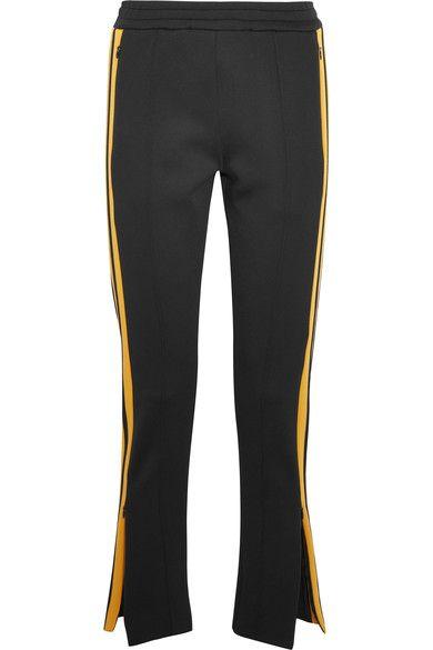 Joseph - Track Pants Skuba mit gelbem Streifen