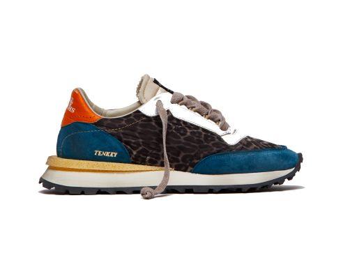 Hidnander - Sneaker Tenkey mit Leoprint