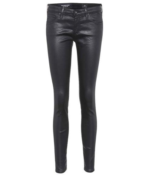 AG Jeans - The Legging Ankle aus Kunstleder