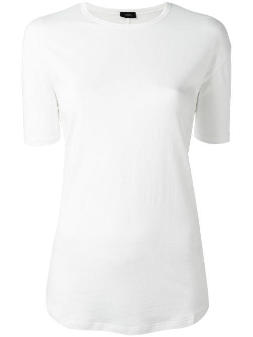 Joseph -Lyocell Jersey T-Shirt weiss