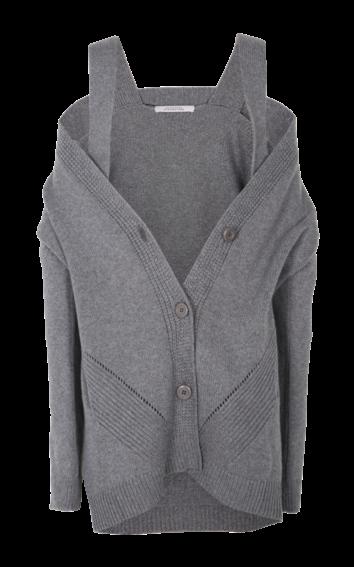 Dorothee Schumacher - Soft Play Coat V-Neck smokey grey