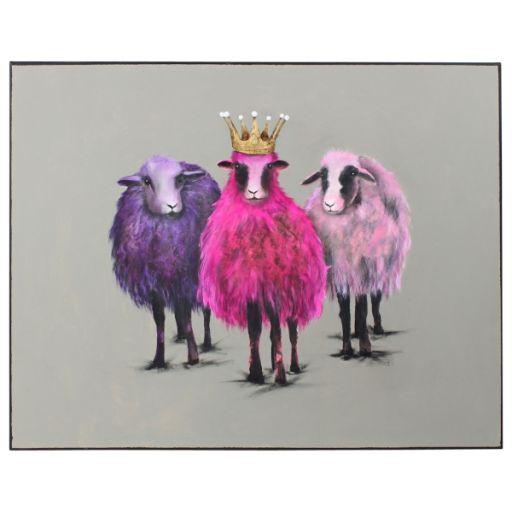 Bild Royal Sheep 100x80 cm
