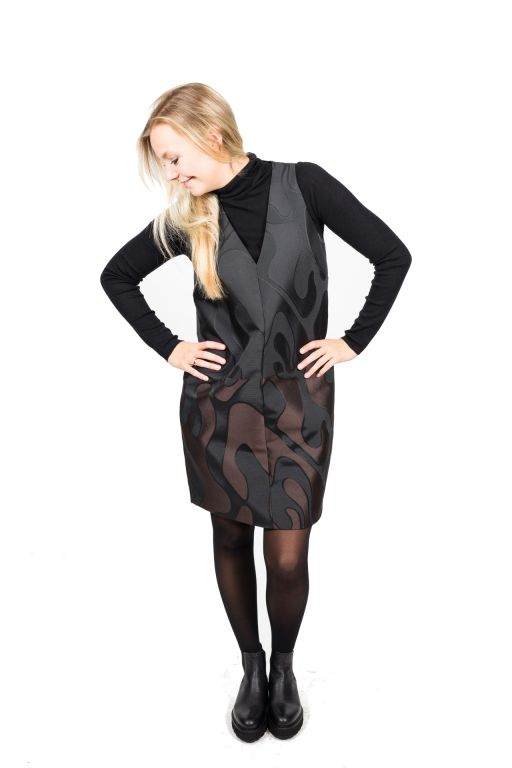 MaxMara - Kleid aus Jacquard