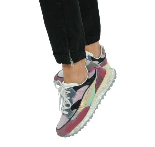 Hidnander - Sneaker Threedome lila