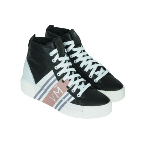 Vic Matié - High Top Sneaker schwarz
