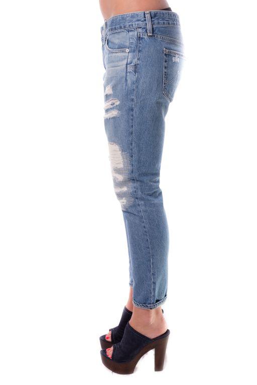 AG Jeans - The Beau Slouchy Skinny im lässigen Boyfriend-Style