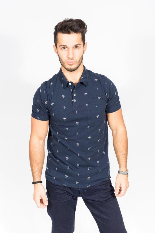 Hartford - Polo Shirt Mini Print   Hemden   Herrenmode   LEONI Luxusmode 4df74470a4