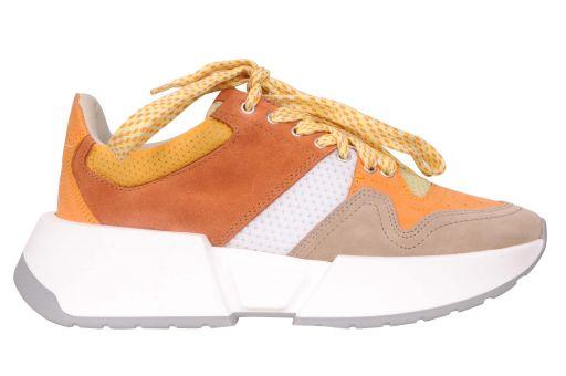 MM6 Maison Margiela - Sneaker mit breiter Sohle rost