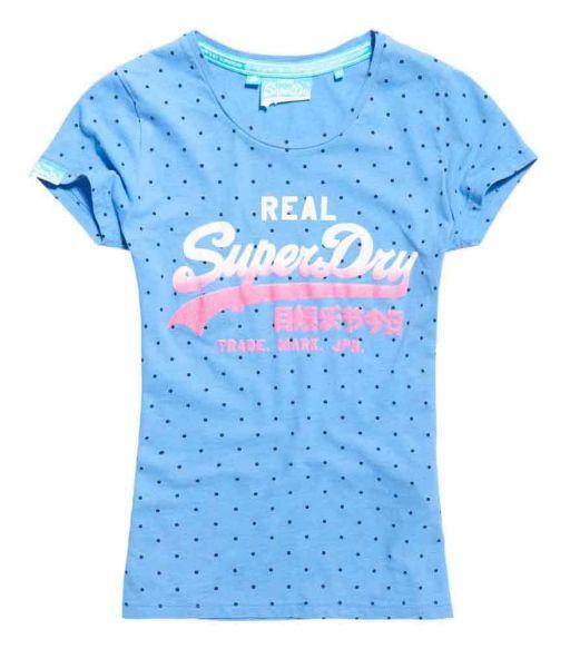 Superdry - Vintage Logo Overdyed Shirt regatte blue