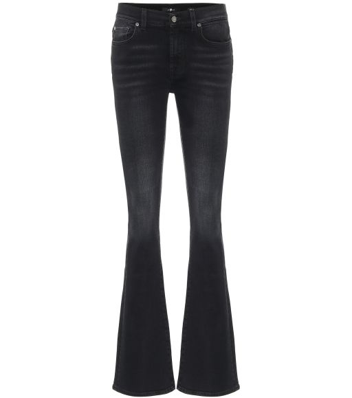 7 For All Mankind - Bootcut Jeans black