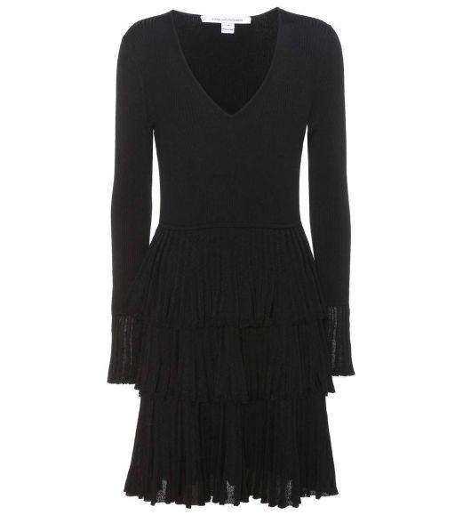 Diane von Fürstenberg - Strick Kleid Sharlynn black