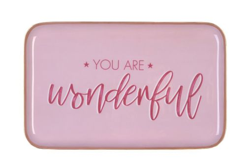 Tablett Saigon rechteckig- You are wonderful