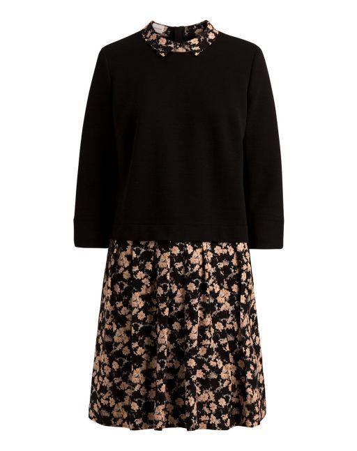 René Lezard - Junges Kleid im Lagenlook mit floralem Print