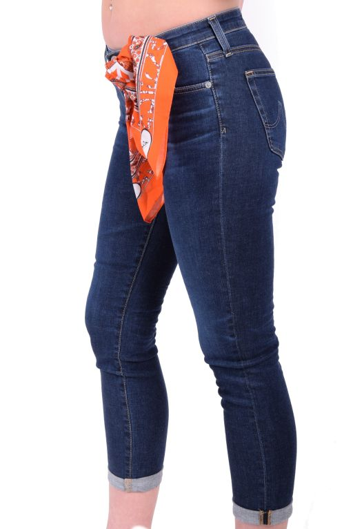 AG Jeans - Prima Roll up dunkle Waschung