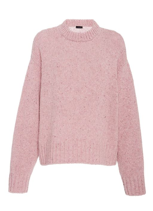 4226aad04cc705 Joseph - Melierter Oversized Pullover rose | Pullover | Pullover ...