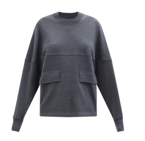 Max Mara - Pullover mit Eingrifftaschen