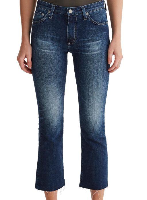 AG Jeans - The Jodi Crop mit ausgefransten Saum