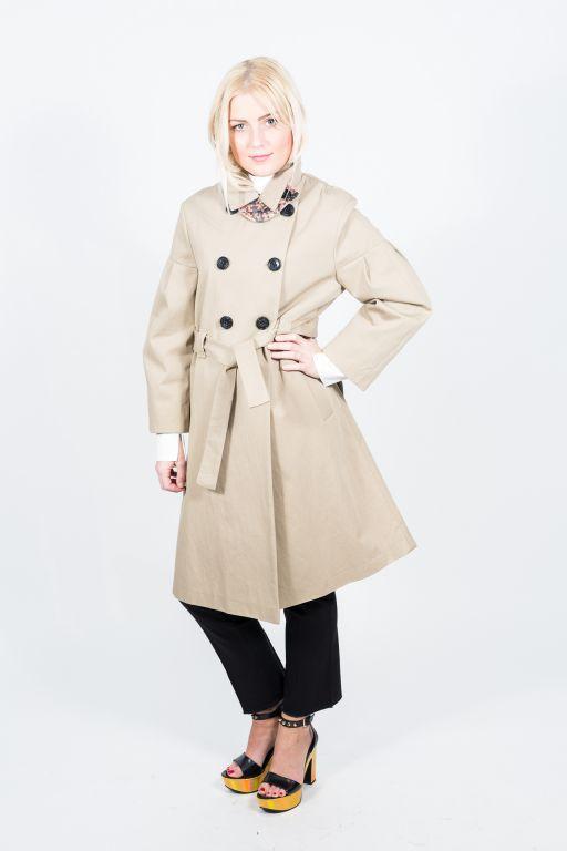 Dorothee Schumacher - Dreamy Natural Coat Sleeve