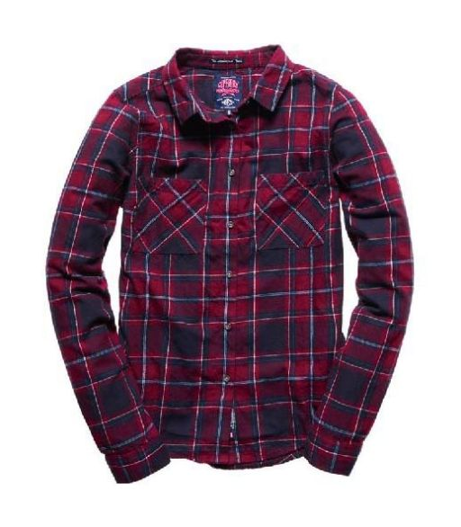 Superdry - New LumberjackTwill Shirt Bergen Check
