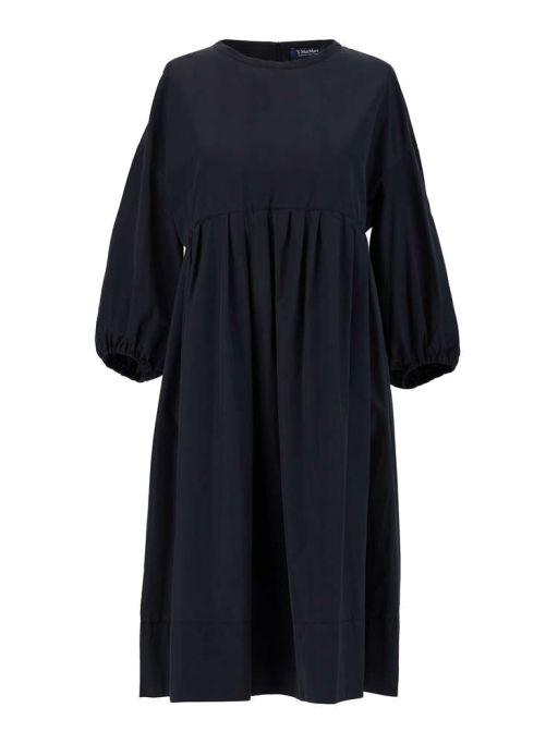 Max Mara - Feminines Kleid aus Baumwolltaft