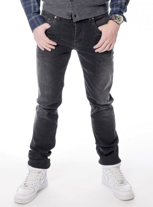 7 For All Mankind - The Chad slim straight black