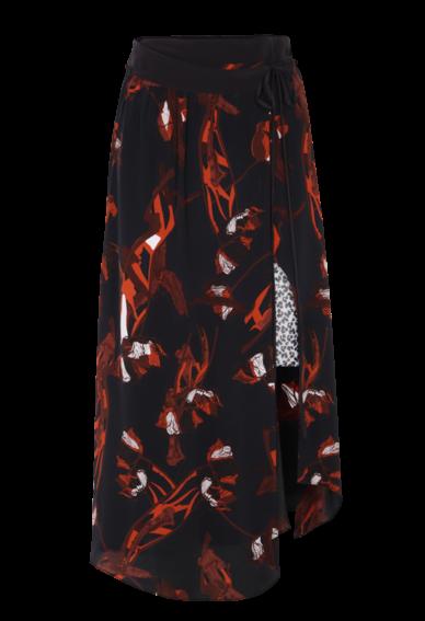 Dorothee Schumacher - Arising bloom Skirt Wickelrock aus Seide