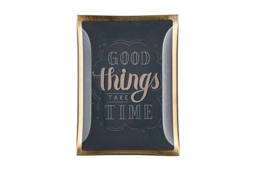 """Glasteller """"Good things take Time"""""""