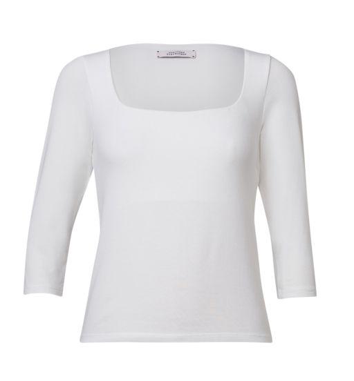 Dorothee Schumacher - Shirt mit 3/4 Arm weiss
